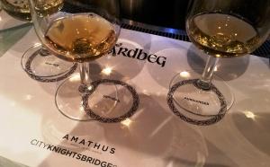 Ardbeg tasting at Amathus Knightsbridge