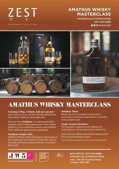 Zest Whisky tasting